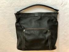 Bucket Bag Longchamps dunkelbraun Tasche Leder Damen Handtasche