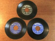 LOT Of 3-Jimmy Smith Verve / Blue Note 45s - Respect, Mickey Mouse, All Day Long