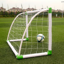 "Portable Mini Kids Soccer Goal for Backyard 47""x31"" Training Football Sports Net"