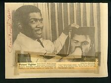 Ernie Terrell Boxer  LOT OF 26 Press Wire Photos fought Muhammad Ali for title