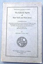 NY NJ Revolutionary War Colonial Agents, Ben Franklin, smooze & spy? in England