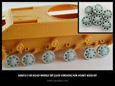 Miniarm 1:35 T-50 Road Wheel Set Late Version for Hobby Boss Kit - Resin #B35015