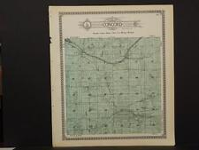 Concord Michigan Map.Michigan Antique North America County Maps Ebay