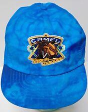 Vintage Joe Camel Cigarette Tobacco Smoking Advertising Tie-Dye Snapback Hat Cap
