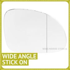 Right hand driver side for VW Golf Plus 2004-2014 Wide Angle wing mirror glass