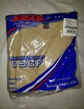USGI Jensen Activewear 3 Men's Crew Neck T Shirts DSCP Sand Color X-Large 46-48