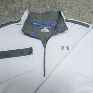 UNDER ARMOUR COLD GEAR POLY SPANDEX  1/4 ZIP PULLOVER--2XL--EXCE{TIONAL QUALITY!