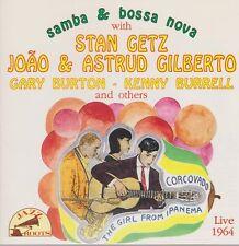CD stan Getz Joào & Astrud gilbero samba & Bossa Nova Live 1964