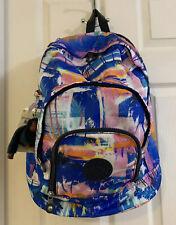 Kipling K10521 Harper Large Expandable Printed Prism Tropical Backpack
