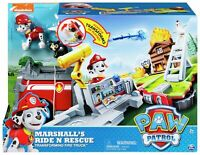Paw Patrol Marshall Ride N Rescue Transforming Fire Truck Vehicle Set - Age 3+