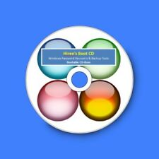 Windows Recovery & Backup Tools, Recover Password, Fix Viruses - Hiren's Boot CD