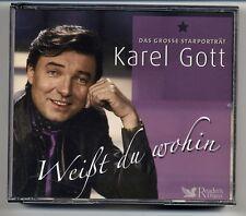 Karel Gott 3-CD Lettore Digest - Weißt Du Wohin - Il Grosse Starportraet