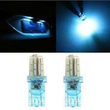 2pcs T10 168 194 2825 24SMD LED Bulb For Car License Plate Number Light Ice Blue