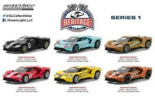 GREENLIGHT 1/64 HERITAGE RACING SERIES 1 SET OF 6 2017 FORD GT40 PRE-ORDER
