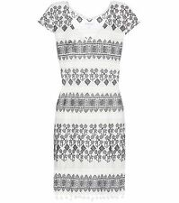 Graham & Spencer Yandel Embroidered Cotton Dress Size XS rrp £179 LF076 GG 02