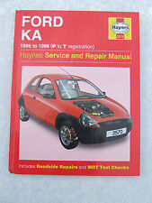 Ford Ka  Haynes Service Repair Manual