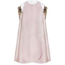 Stella McCartney Pale Champagne Pink Apron Mini Dress IT42 UK10