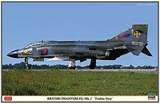 Hasegawa 1/48 Royal Air Force British Phantom FG Mk.1 treble one plastic mo