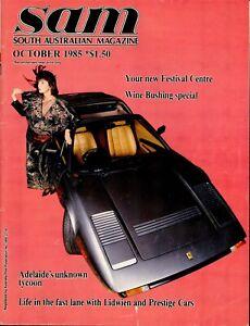 SAM Magazine / South Australia Magazine - October 1986 - Rare 1980s Magazine