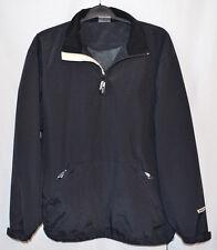 Bauer Hockey Jacket Black Nylon 1/4 Zip Men's Large