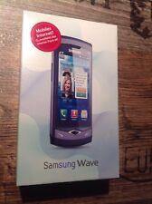 Samsung  Wave GT-S8500 Ebony Gray Smartphone
