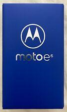 Brand New Motorola Moto E6 16GB Black Unlocked for all networks (Single SIM)