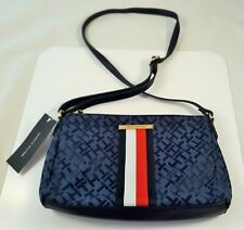 Tommy Hilfiger-bolso bolso de mano bolso señora Shopper shoulder Bag azul x Body