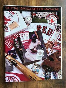1994 New Britain Red Sox Official Program Magazine vs Trenton Thunder Tony Clark