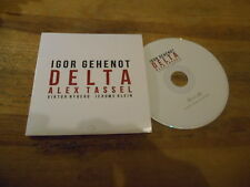 CD Indie Igor Gehenot - Delta (9  Song) Promo IGLOO SOWAREX cb
