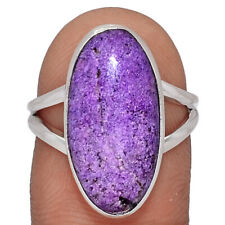 Purpurite 925 Sterling Silver Ring Jewelry s.7 AR154734
