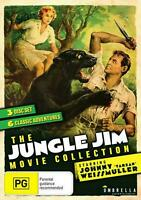 The Jungle Jim Movie Collection (DVD 3 disc set) NEW/SEALED