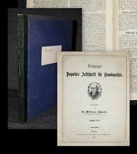 1886 omeopatia Schwabe Willmar diffusa rivista di omeopatia