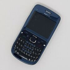 "Nokia C3-00 2G 2.4"" - Blue QWERTY FM radio, RDS - Working Condition - Unlocked"