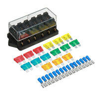 12V/24V 6 Emplacements Boîte Porte Fusible Circuit Standard ATO Enfichable