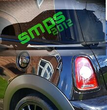 Mini Gen 2, R56 Cooper S, JCW  2006 - 2013 Black Gloss Fuel Cap Cover.
