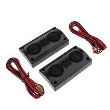 1 Pair High Sound Quality Car Stereo Audio System Dual Speaker Mixed Color