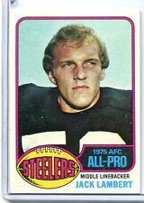 1976 Topps JACK LAMBERT Rookie RC Steelers HOF #220 EXMT (b)