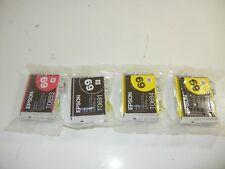 NEW Genuine Epson 69 Ink T0691/T0692/T0693/T0694 - 1 Black, 1 Magenta, 2 Yellow