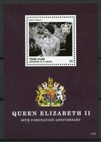 Young Island Gren St Vincent Stamps 2013 MNH Coronation Queen Elizabeth II 1v SS