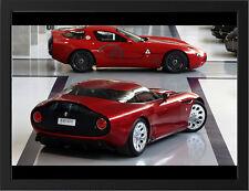 "ALFA ROMEO TZ3 STRADALE A3 FRAMED PHOTOGRAPHIC PRINT 15.7""x11.8"""