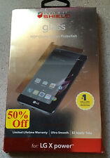 Zagg Invisible Shield Glass Screen Protector for LG X Power