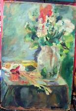 """TROPIC MELODY"" by Ruth Freeman OIL ON MASONITE 16"" X 24"""
