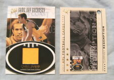 2003  XL ULTRA AFL GAME DAY GUERNSEY CARD -  GC2 CHRIS JUDD, WEST COAST EAGLES