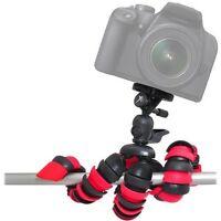 "12"" Tripod Flexible For Canon EOS Rebel XS XSi 450D 20D 30D 50D M EF-M STM Kit"