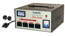 Superite 2000 w Watt Voltage Converter Regulator Step Up/Down