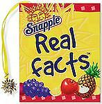 Snapple Real Facts [Mini Book] [Charming Petites]