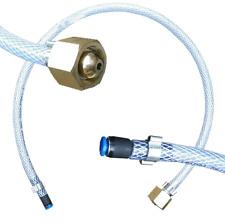 Mig welder gas pipe adaptor connector to regulator - 3/8 BSP to 4mm tube