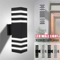 E27 Up Down Wall Mount Light Outdoor Fixture Sconce Lamp Dual Head Indoor Garden