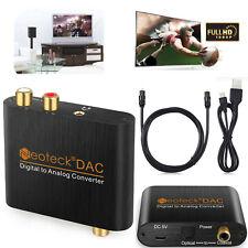 Digitale adattatore analogico Audio Converter 3.5mm RCA cavo coassiale ottico