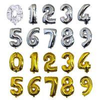 1X(Fashion Palloncini Numero Foglio 16 Pollici Compleanno Decorazione Festa X4N7